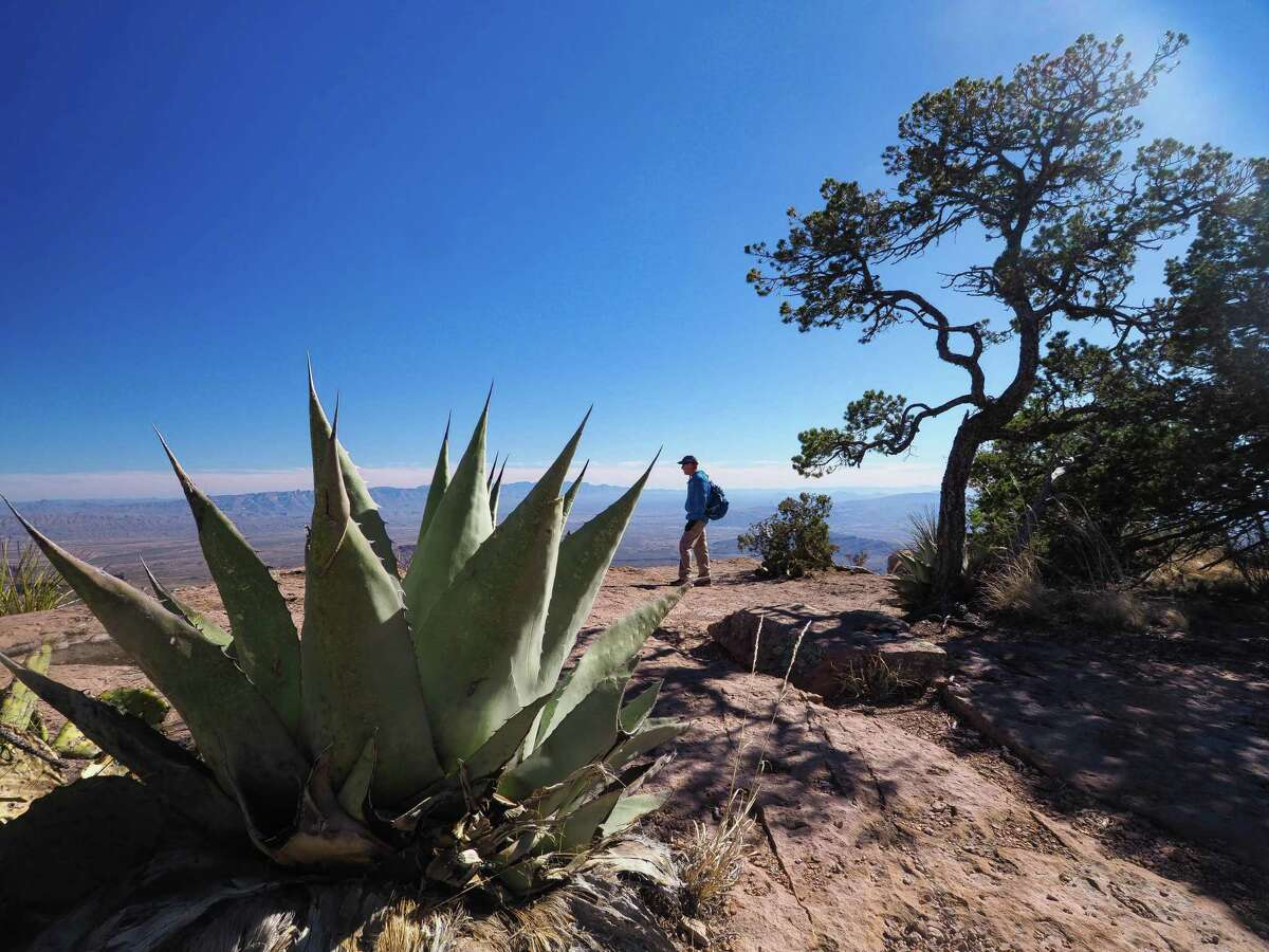 Big Bend National Park will open for day use only starting Friday, July 7. Shown is the view from the park's South Rim.