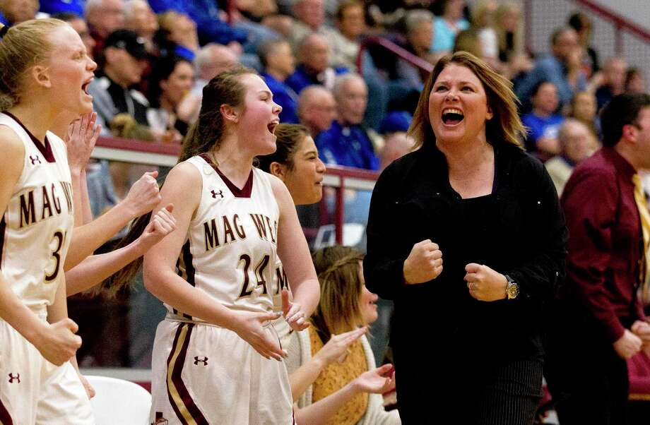Sarah Simmons guided Magnolia West to the regional semifinals in 2019. Photo: Jason Fochtman, Houston Chronicle / Staff Photographer / © 2019 Houston Chronicle