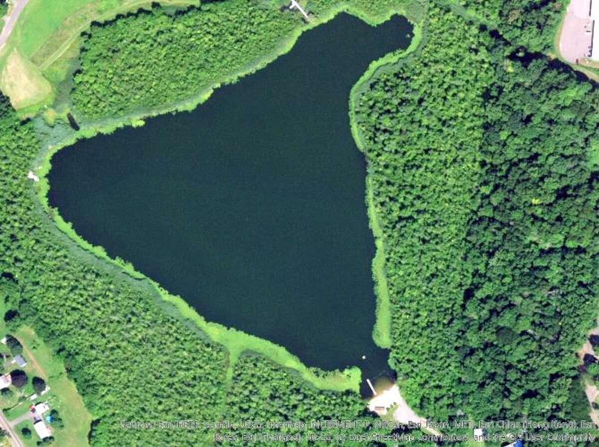 Cedar Pond in North Branford