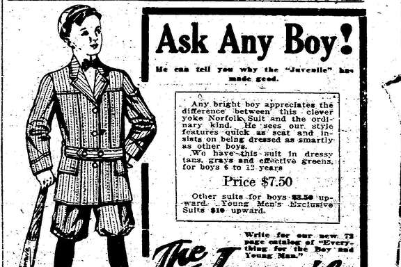 Display ads from the 1900s