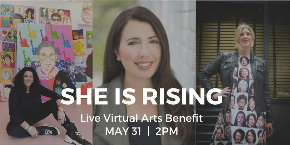 She is Rising: Virtual Arts Benefit will be held Sunday, May 31, from 2-3:30 p.m.