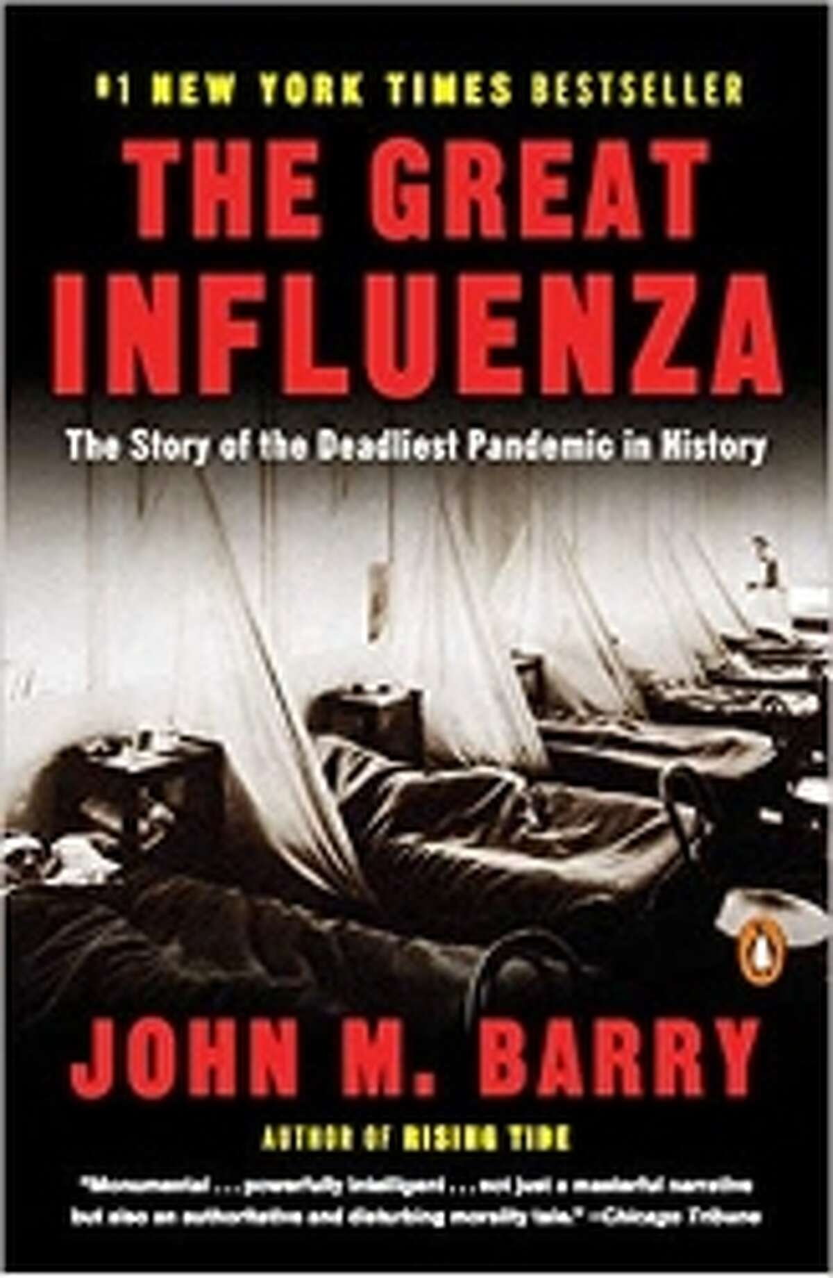 The Great InfluenzaJohn M. BarryAnother book about the 1918 pandemic and the risks of a resurgence-this time with far more historical and medical detail. Though some find it overwhelming (just read some of the negative reader reviews on Amazon), the information is invaluable.