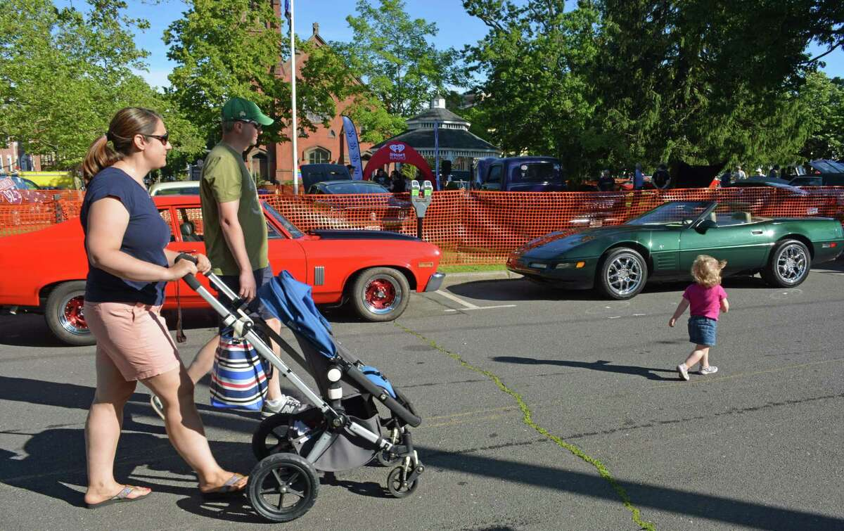 Bright, warm and pleasant conditions made Middletown's 22nd annual Car Cruise on Main a success in June 2019, with hundreds of classic and vintage vehicles lining downtown and the South Green.