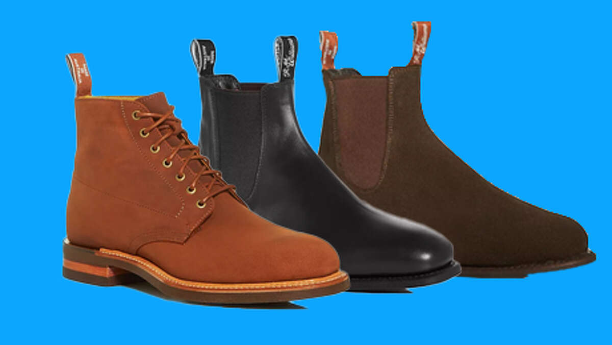 sale on high-end R. M. Williams boots