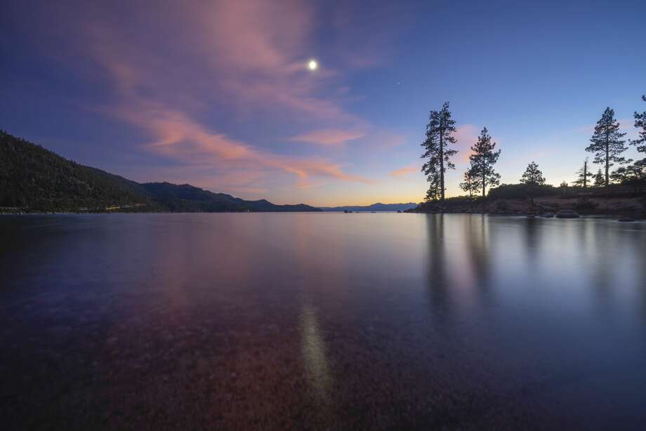 Lake Tahoe. With a new generation of younger buyers who are getting used to working from home amid the coronavirus pandemic, the prospect of living out of the city and on an alpine lake while maintaining a career is appealing. Photo:  Lightvision, LLC / Getty Images / Lightvision, LLC