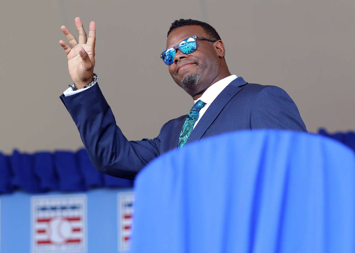 Ken Griffey Jr. joined the Seattle Sounders ownership group, the team announced Nov. 17, 2020.