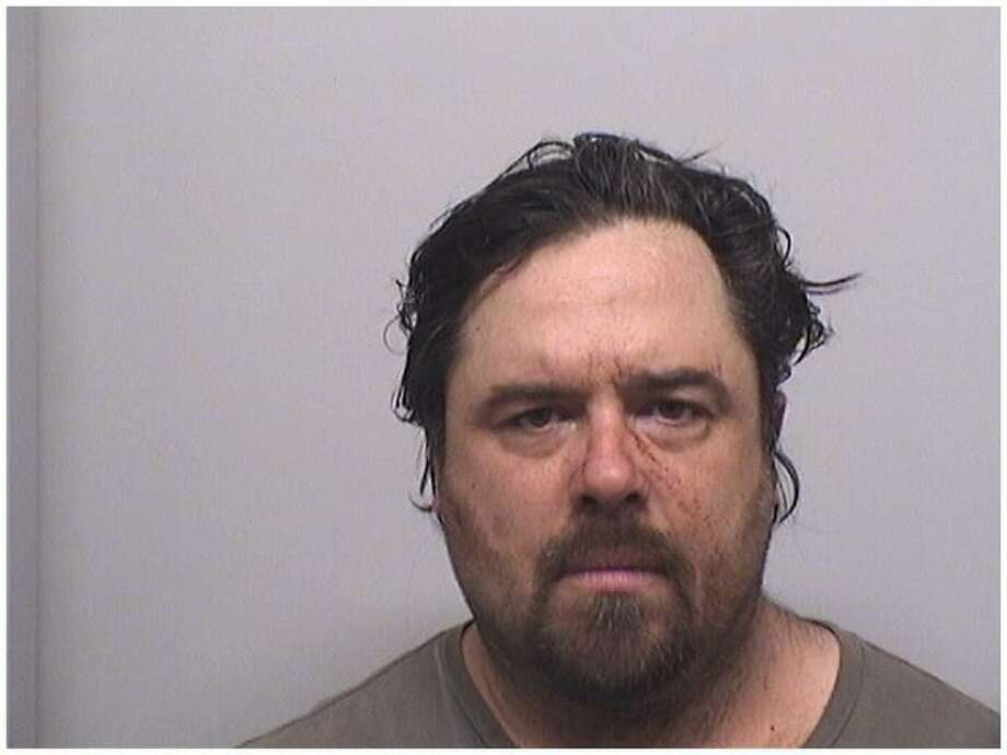 Jared Denny, 45, was charged Tuesday morning with a domestic assault in Stamford. Photo: Stamford Police Department / Contributed