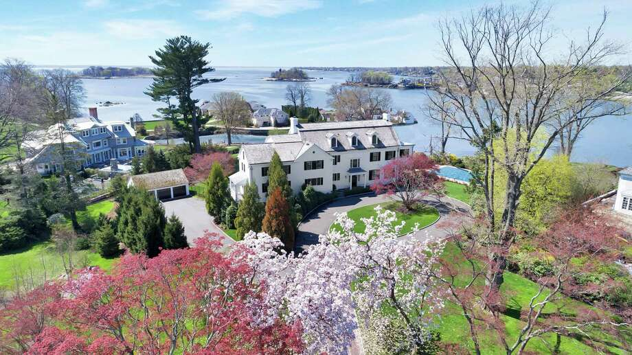 This home at 54 Byram Drive in Greenwich, Conn., has sold for approximately $17 million. Photo: Contributed Photo