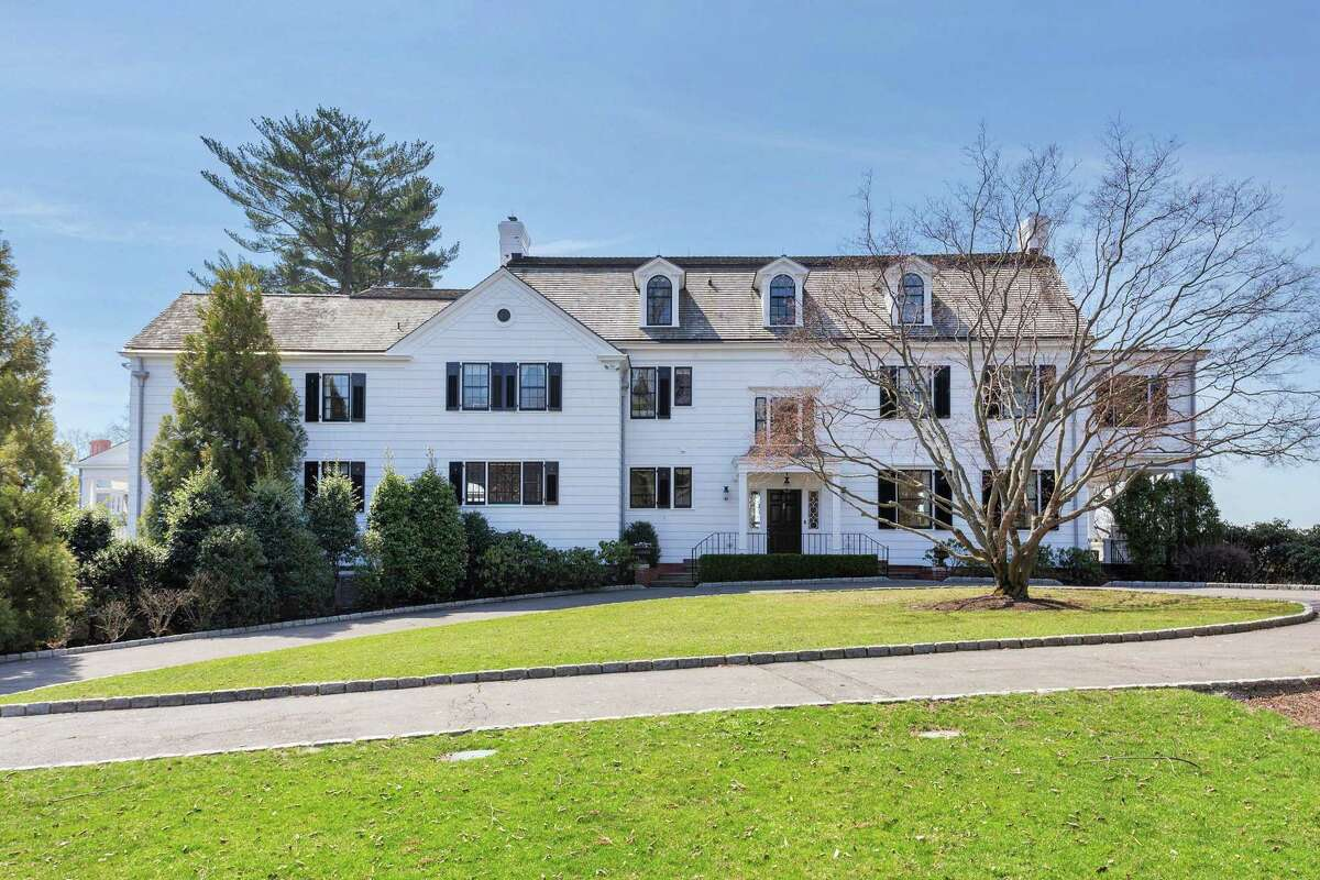 This home at 54 Byram Drive in Greenwich, Conn., has sold for approximately $17 million.
