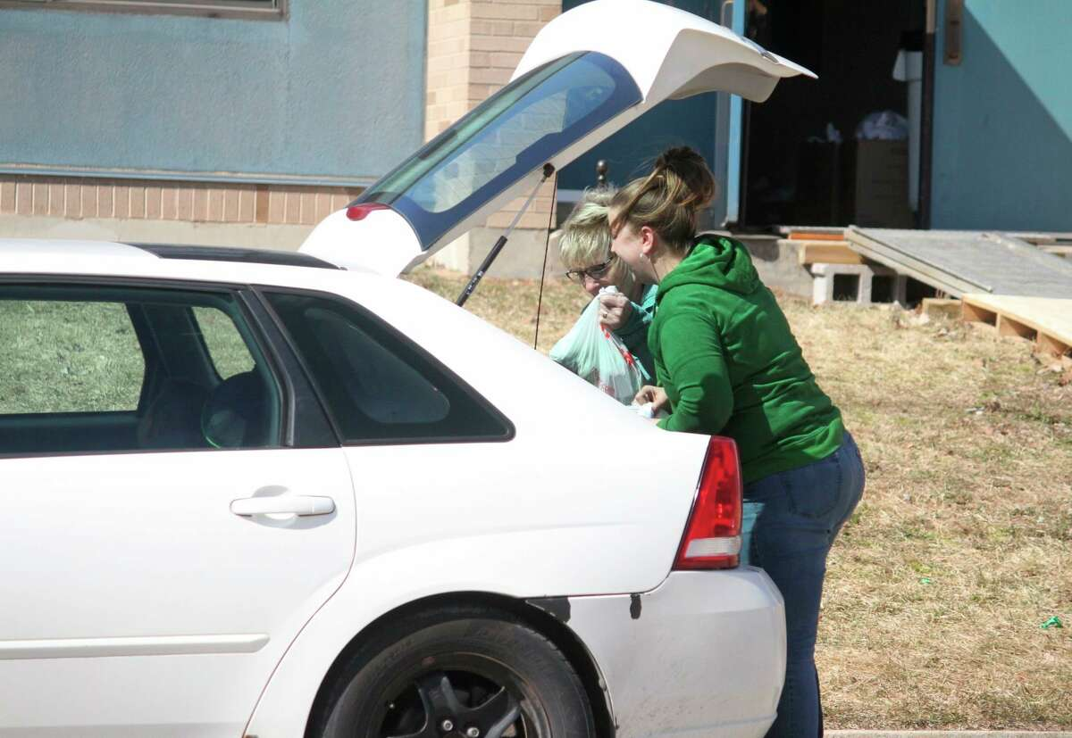Volunteers for the MRWA will be at both Reed City High School and Big Rapids Middle School Tuesday to pass out trees for students. This will take place during regular meal pickup times. (Pioneer file photo)