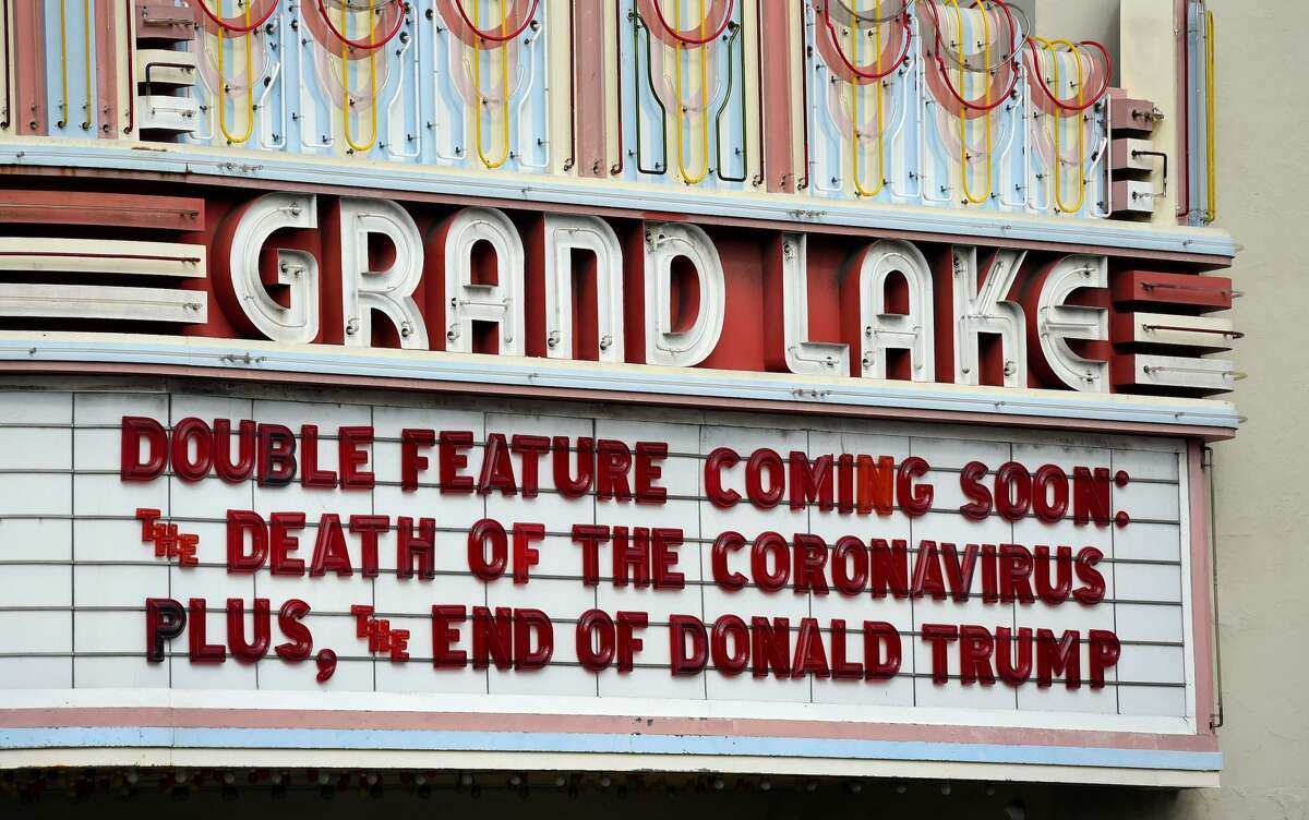 The Grand Lake Theater in Oakland is not wishing for four more years.