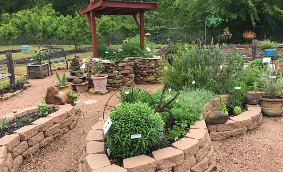 An example of a keyhole garden at the Montgomery County Master Gardener's garden on Airport Road in Conroe. Photo: Photo CourtesyWaymon Wooley