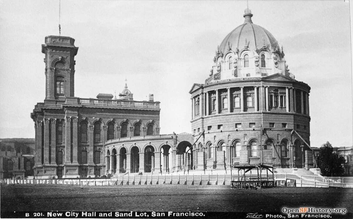 San Francisco had grand hopes for its first real city hall. From its inception, the Gold Rush town had used smaller buildings, nothing really purpose-built for a true metropolis. But flush with wealth in the 1870s, the city held a nationwide contest to select a design for a massive new city hall complex near the site of today's San Francisco Public Library. The winner was Augustus Laver, the architect of the New York state capital in Albany. What felt like a blessing - Laver and his family were already hoping to relocate to the warmer West Coast for his health - soon turned into Laver's unending nightmare. Although the city's newly formed New City Hall Commission loved his Second Empire-style design with big, bold columns, grand plazas and a towering dome topped with a gleaming statue holding a torch aloft, they were soon at loggerheads about everything else.