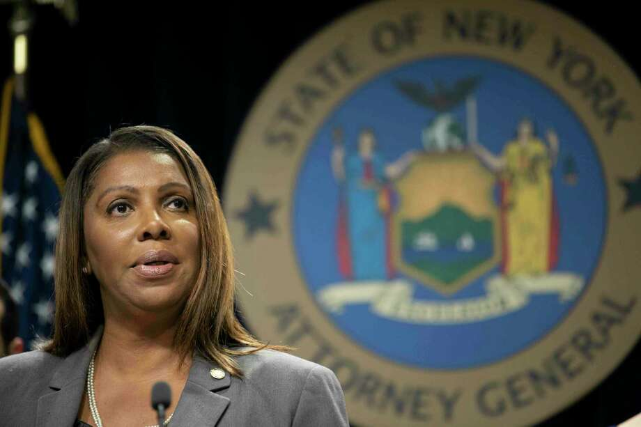 New York Attorney General Letitia James Photo: Mary Altaffer / Associated Press / Copyright 2019 The Associated Press. All rights reserved.
