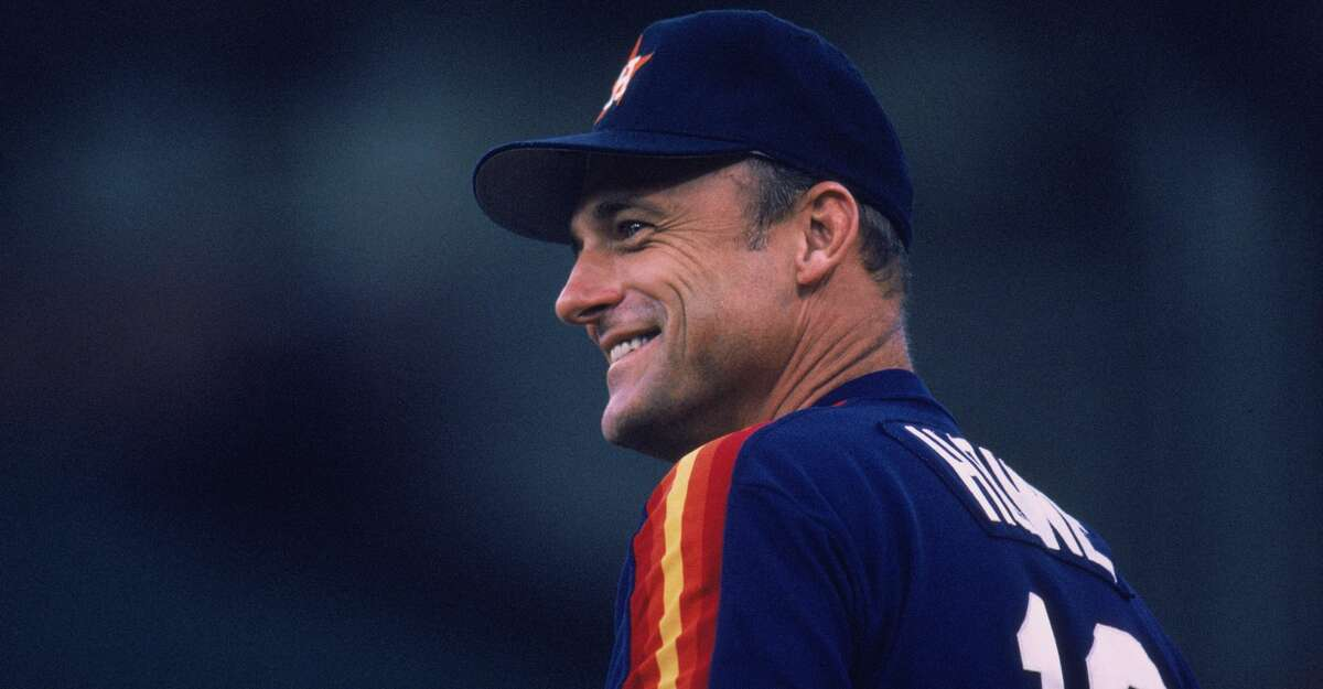 Manager Art Howe of the Houston Astros smiles before a MLB (Major League Baseball) game in 1989. (Photo by Otto Greule Jr /Getty Images)