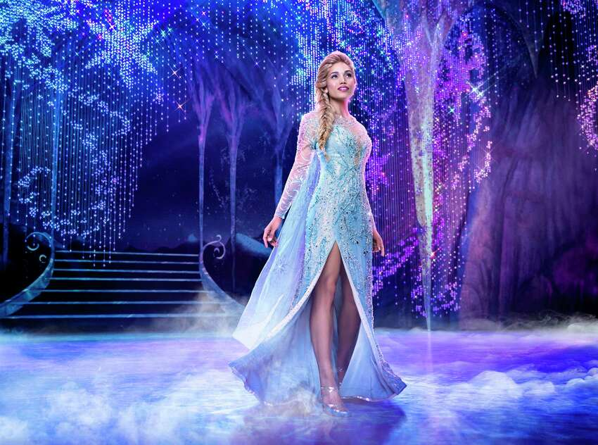 This image released by Disney Theatricals shows Ciara Renee as Elsa in the musical