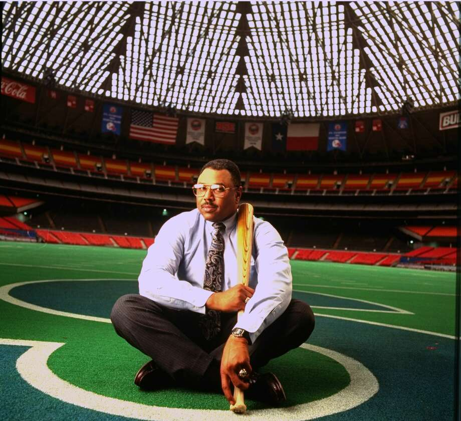 Baseball: Feature. Portrait of Houston Astros GM Bob Watson alone. (Photo by Pam Francis/The LIFE Images Collection via Getty Images/Getty Images) Photo: Pam Francis/The LIFE Images Collection Via G / Pam Francis