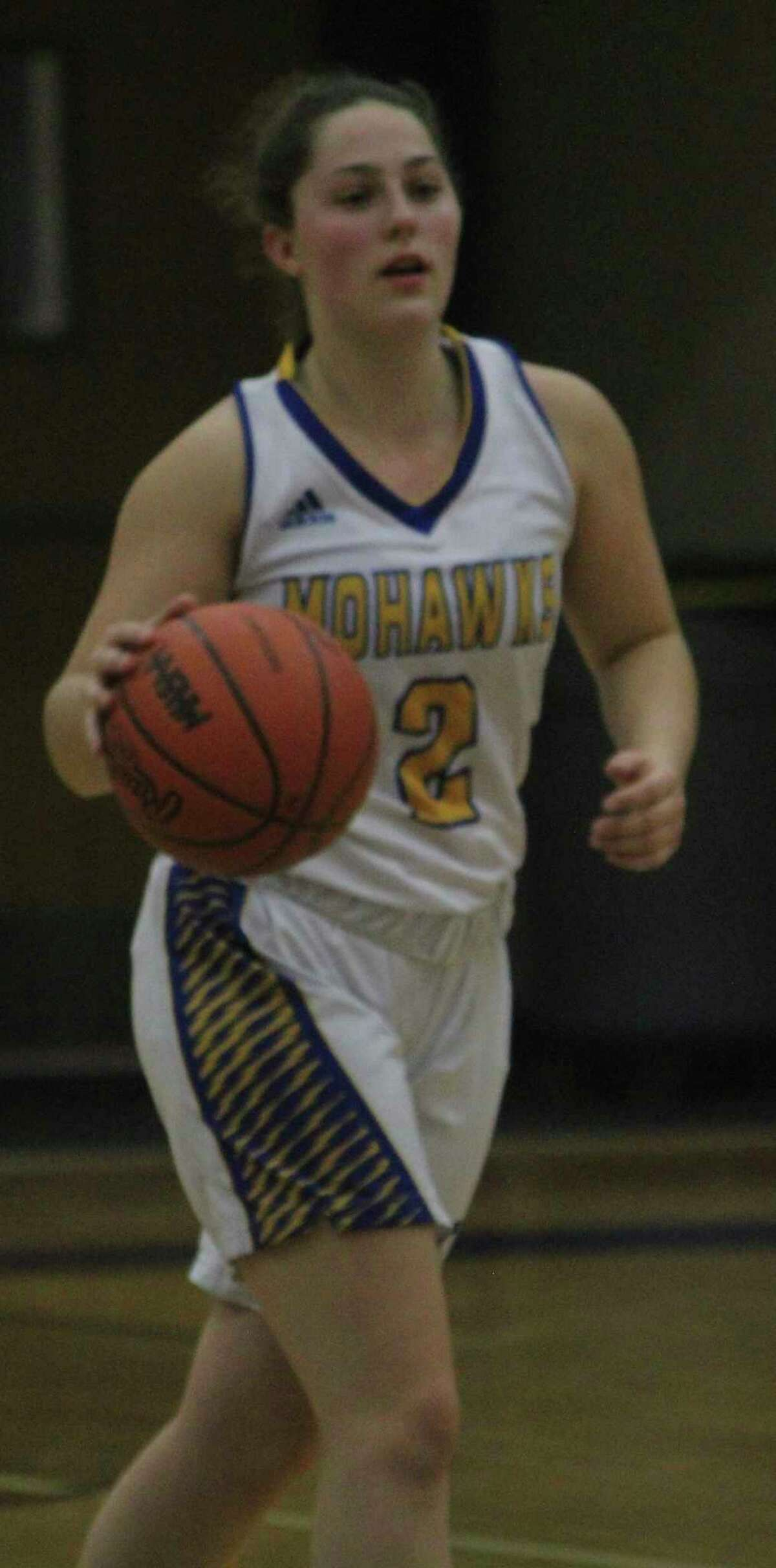Kaylee Ramsey was hoping to follow her basketball season with softball action before the season was canceled. (Pioneer file photo)