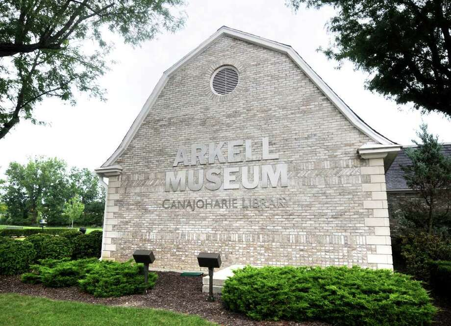 The Arkell Museum at Canajoharie & The Canajoharie Library, on Erie Boulevard in Canajoharie.  This is the part of the interconnected structure that houses part of the library, originally built with Arkell Family money in the 1920s.  The Arkell Museum was constructed 2005-07 by Arkell Hall Foundation, in memory of its founder & benefactor Bertelle Arkell Barbour, as a gift to the people of Canajoharie and the Central Mohawk Region. (Luanne M. Ferris / Times Union) Photo: Luanne M. Ferris
