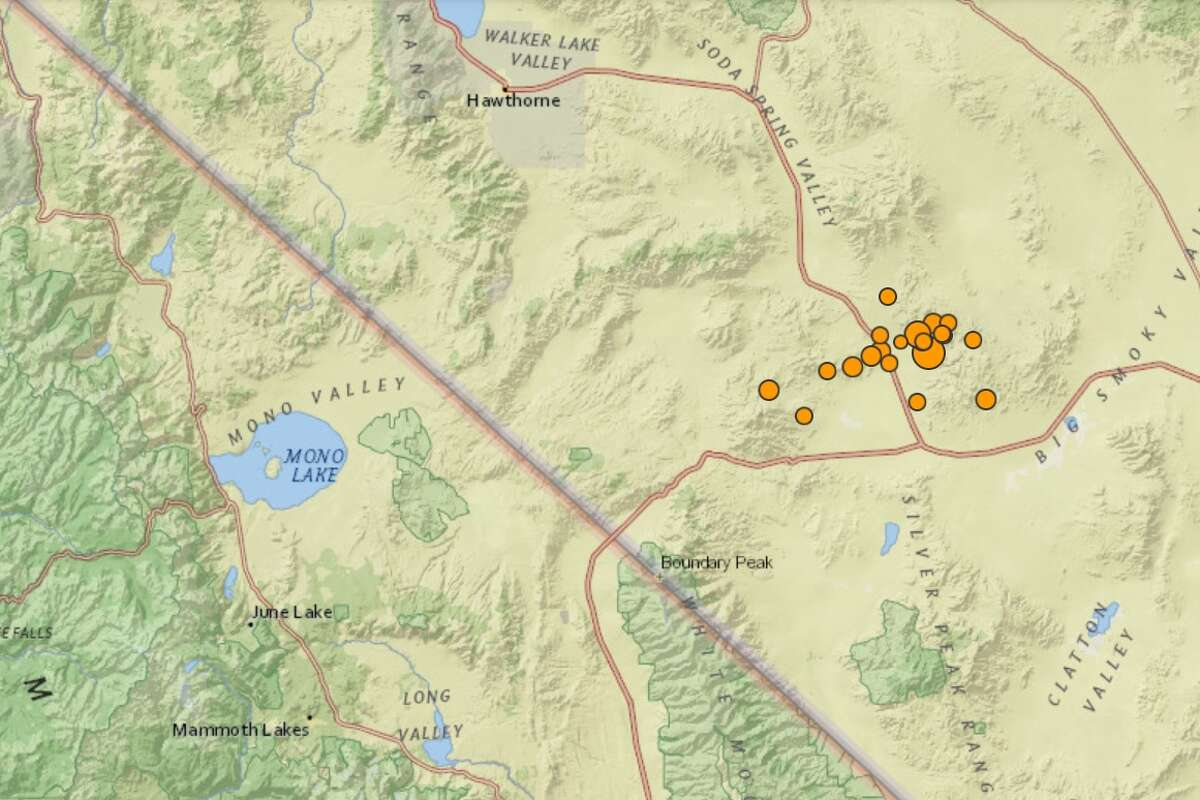 A magnitude-6.5 earthquake rocked remote western Nevada Friday morning, about 126 miles southeast of Lake Tahoe, and according to the United State Geologic Surveywas widely felt all the way from Los Angeles to Portland, Ore., to Salt Lake City.