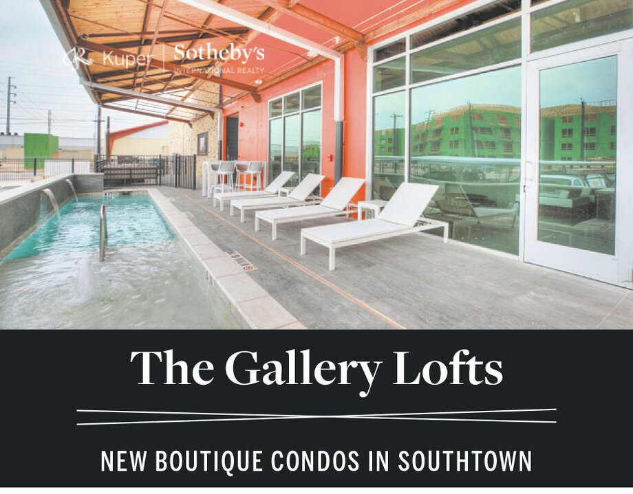 RANGING FROM 1,089 - 1,486 SF | 1 & 2 BEDROOMS COVERED PARKING | POOL | OUTDOOR KITCHEN | DOG RUN FROM THE $340S TO THE $400S MODEL IS READY TO TOUR! The Gallery Lofts is a boutique condominium community of 27 lofts located in the trendy San Antonio neighborhood of Southtown. Blocks from some of the city's best parks, galleries, restaurants, and boutiques. Convenient highway access ensures you're never far from all that San Antonio has to offer. 210 W PEDEN ALLEY | SAN ANTONIO, TX 78209 SEE MORE AT GALLERYLOFTSSA.COM EXCLUSIVELY MARKETED BY SHAIL PATEL 210.454.2904 | shail.patel@sothebysrealty.com   Photo: Photo By Kuper Sotheby's