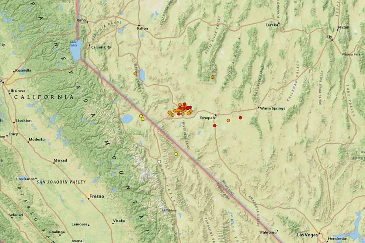 A 6.5 magnitude earthquake struck southwest Nevada early Friday morning, according to the U.S. Geological Survey. Northern California residents reported feeling the quake.