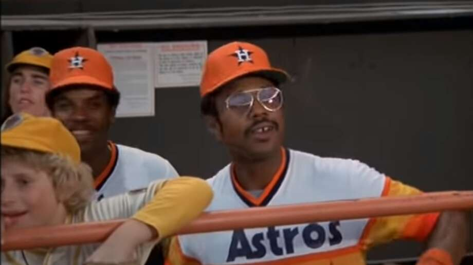 """PHOTOS: Classic photos of Bob Watson in his time as a player and executive with the Houston Astros The Houston Astros' Bob Watson had a memorable line in the 1977 movie """"Bad News Bears in Breaking Training."""" Photo: Paramount Pictures"""