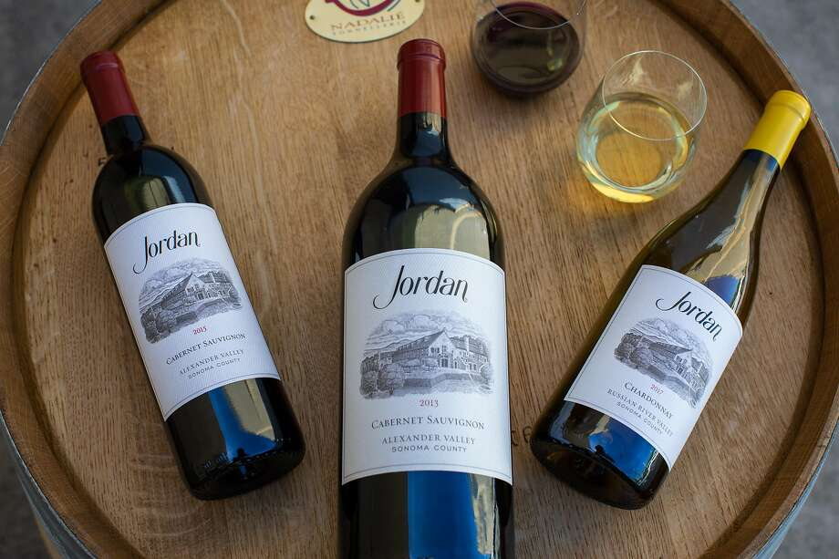 Jordan Winery makes just two wines: Chardonnay and Cabernet Sauvignon. Photo: Jordan Winery