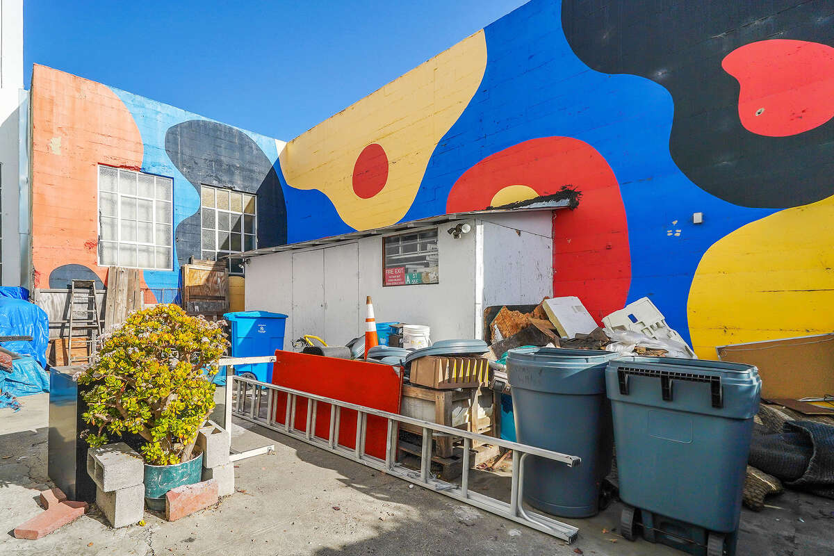 In SF's SoMa, the property offers 7,500 square feet of space plus parking.