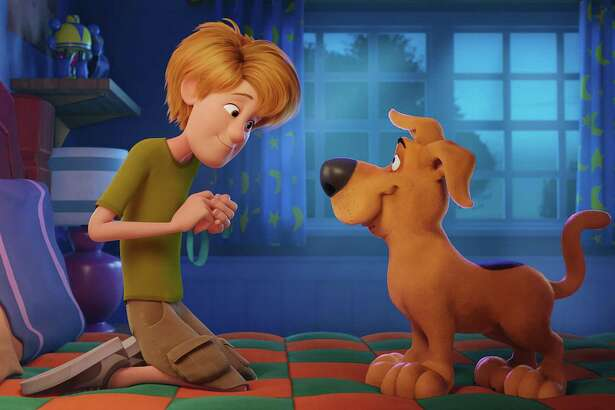 """A scene from """"Scoob."""" MUST CREDIT: Warner Bros. Pictures"""
