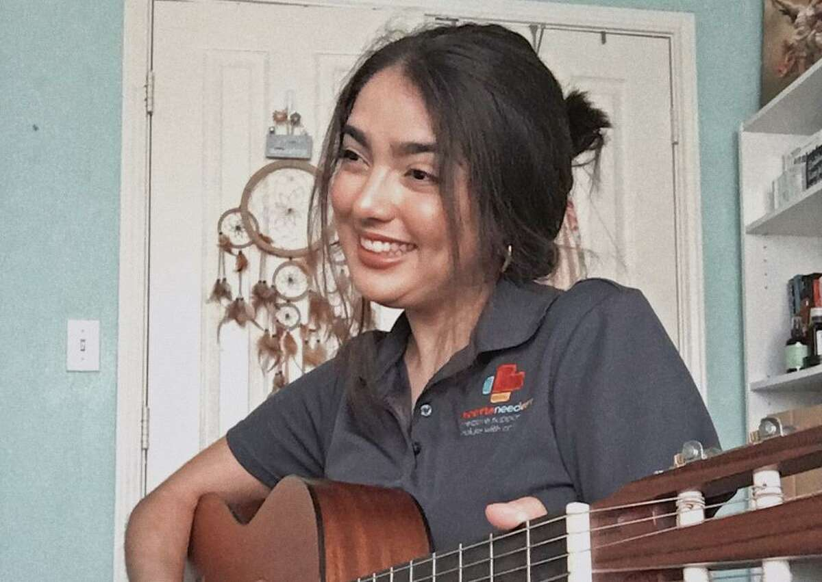 Musician Marisa Castro is one of 10 artists who work with Hearts Need Art, which provides arts programming to people facing health challenges. The artists now are working virtually, allowing the to reach people across the country.