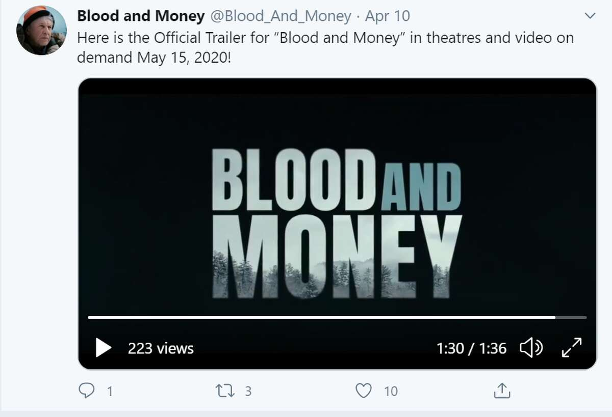 Blood And Money Tom Berenger stars as a retired veteran in the Allagash backcountry who discovers a dead woman with a duffle bag full of cash and finds himself entangled in a web of deceit and murder. You can watch Blood And Money on PrimeVideo.