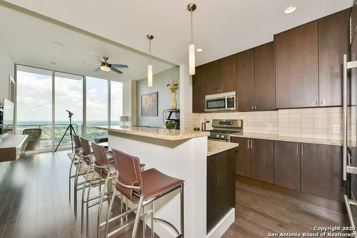 A one-bedroom unit at 600 E. Market St. offers a