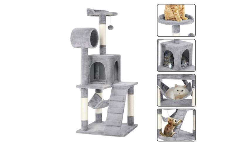 Yaheetech Cat Tree Tower, Starting at $59.99Height: 51