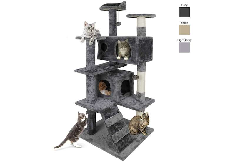 Nova Microdermabrasion Multi-Level Cat Tree, Starting at $61.88Height: 53