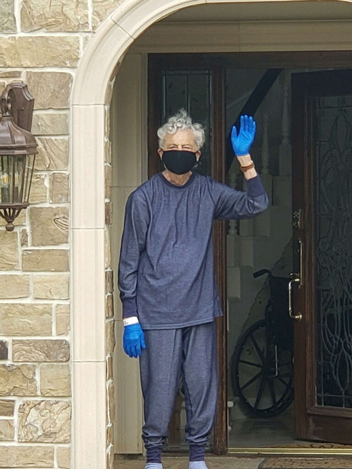 Ralph, on the other hand, said he didn't find out he had the virus until after he came back to moving around.