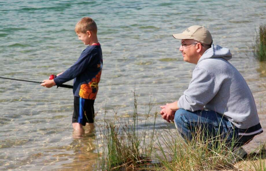 Fishing should improve as temperatures rise. (News Advocate file photo)