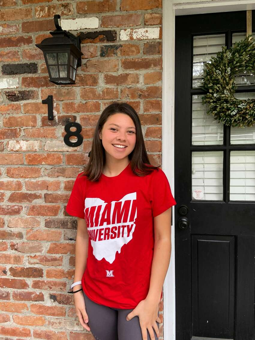 Kaitlyn Fico, 17, is graduating from New Canaan High School. She will be studying Sports Leadership and Management at Miami University.