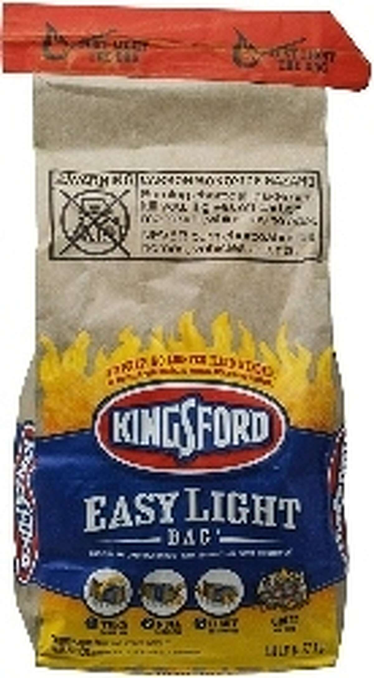Kingsford Easy Light Bag, 2.8 lbsThough it's definitely cheaper to buy charcoal in bulk, we're on a budget here -- and I would never betray your trust with a misleading headline. 2.8 lbs is plenty when it comes to pumping out burgers and hot dogs. Plus, it's