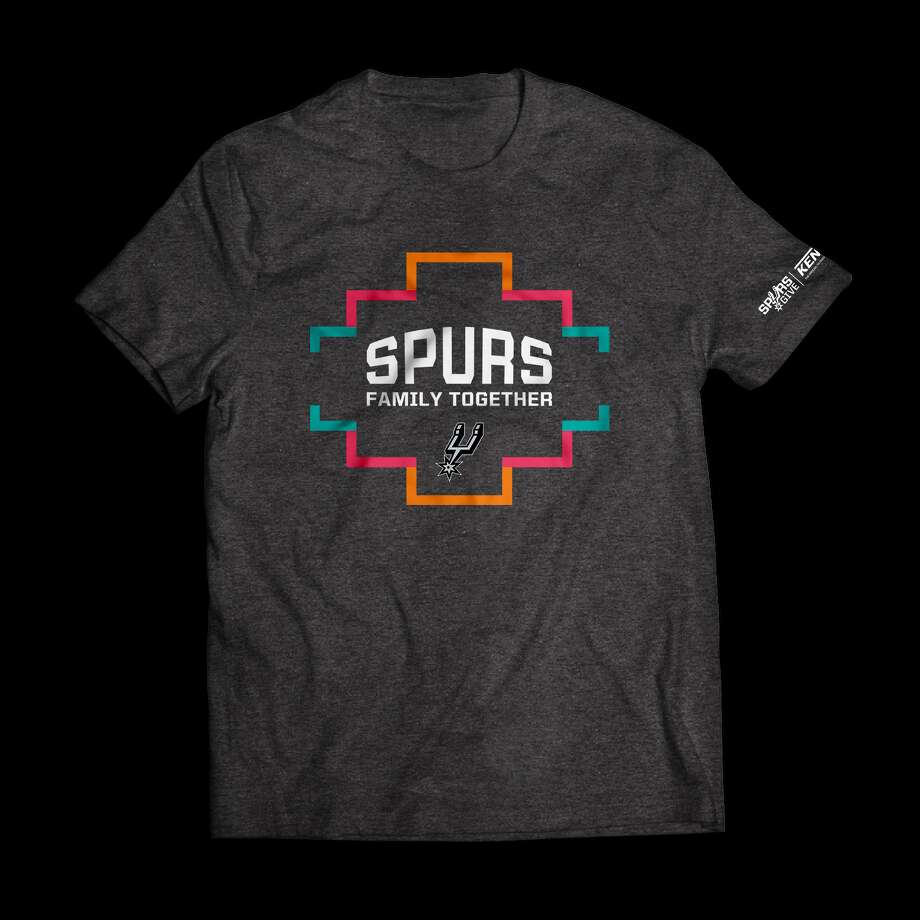 Spurs fans can get their hands on a limited-edition T-shirt and help with COVID-19 relief efforts in San Antonio at the same time. Photo: Courtesy