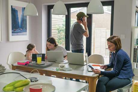 In a home with two adults, several school-age children and, as has become commonplace, a boomerang adult child or two all living under one roof, finding someplace private to work has become important.
