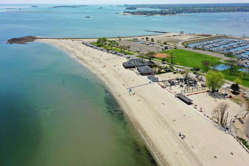 Compo Beach in Westport reopened May 15.
