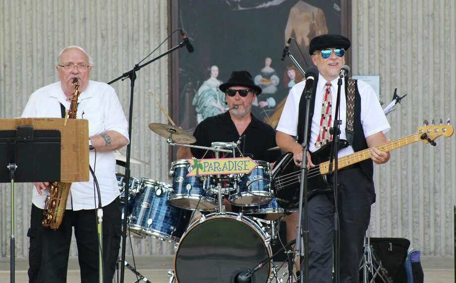 In this file photo, the Paradise Band performs before a large crowd in Hemlock Park during last year's Bands, Brews & BBQ Festival. This year's festival has been postponed amid the concerns of the coronavirus. Officials are concerned with tourism in Mecosta County and the impact the virus will have on it. (Courtesy Photo)