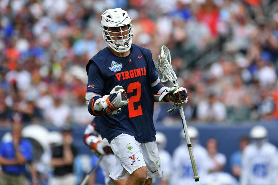 New Canaan's Michael Kraus, the No. 2 overall pick in the Major League Lacrosse draft, will be suiting up for the Connecticut Hammerheads later this month. Photo: Larry French / Getty Images / 2019 NCAA Photos 2019 NCAA Photos