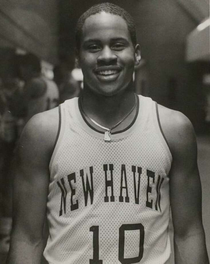 Ken Coleman as member of University of New Haven basketball team. Photo: Contributed