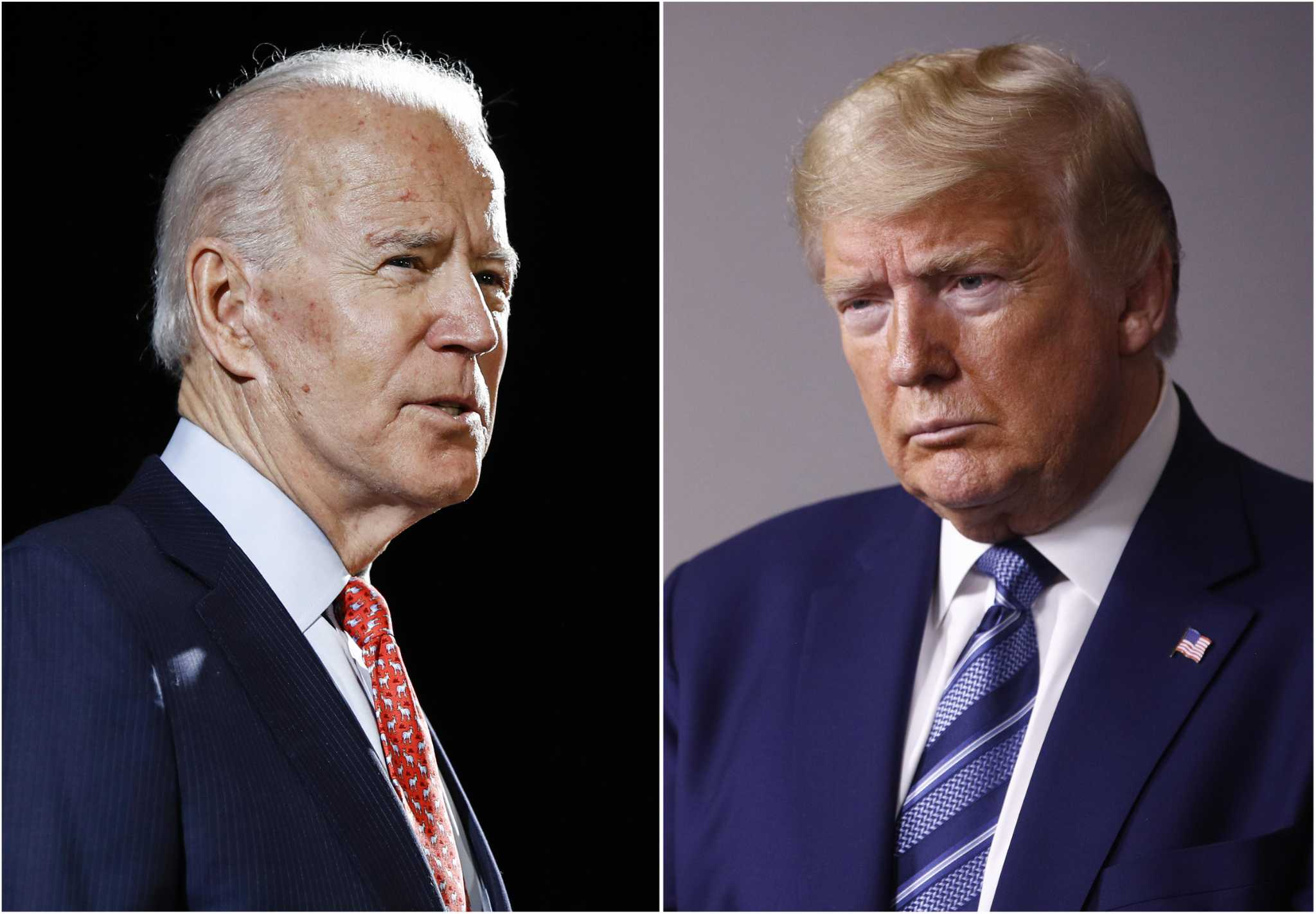 Trump, Biden in virtual tie in Texas in new poll - HoustonChronicle.com