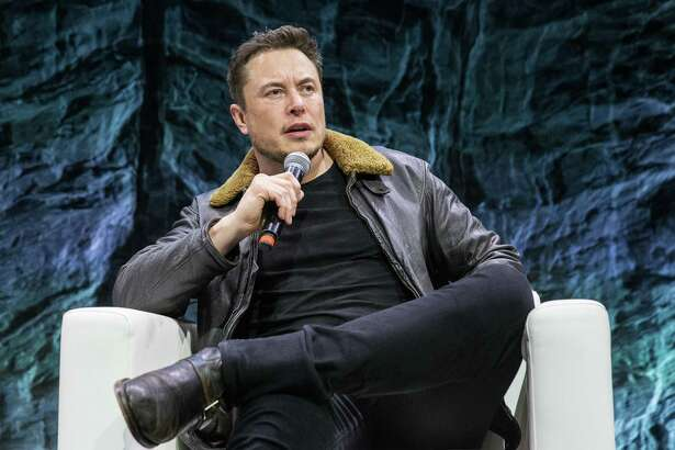 Elon Musk, CEO of SpaceX and Tesla, speaks during a South by Southwest 2018 session in Austin. The billionaire said he wants to move the company's headquarters out of California over COVID-19 restrictions.