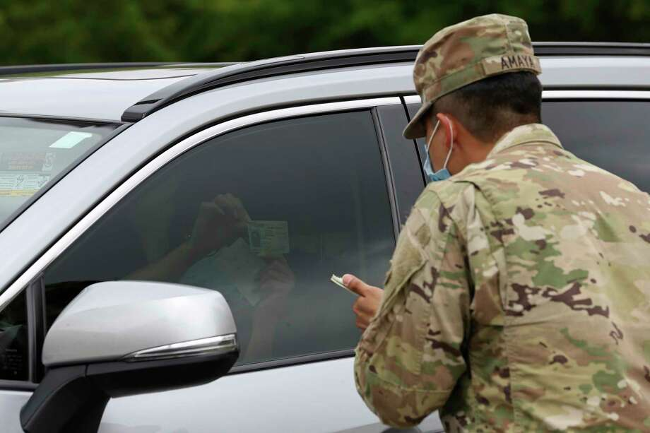 Major Gen. Tracy R. Norris tweeted that there's no plan in place right now for the Texas National Guard to have a presence at Houston polling places. Photo: Jerry Lara /San Antonio Express-News / **MANDATORY CREDIT FOR PHOTOG AND SAN ANTONIO EXPRESS-NEWS/NO SALES/MAGS OUT/TV   © 2019 San Antonio Express-News