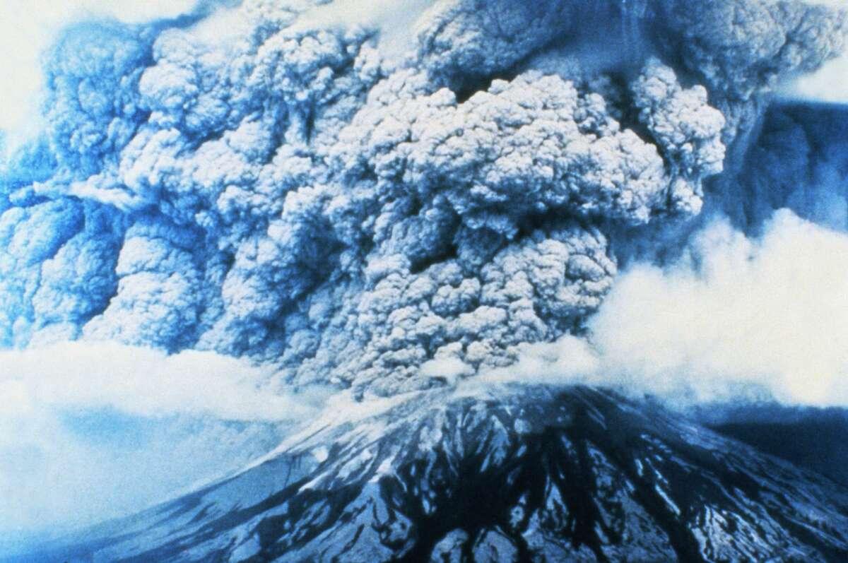 Mount St. Helens Erupting (Photo by © CORBIS/Corbis via Getty Images)