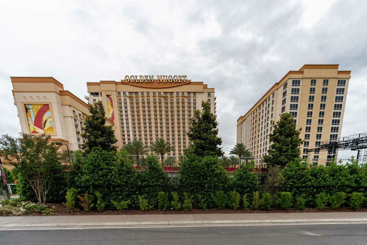 The Golden Nugget Hotel and Casino in Lake Charles reopened Monday, May 18. Photo made on May 15, 2020. Fran Ruchalski/The Enterprise